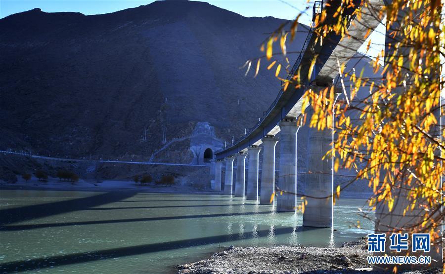 (经济)(4)拉林铁路第二次跨越雅鲁藏布江