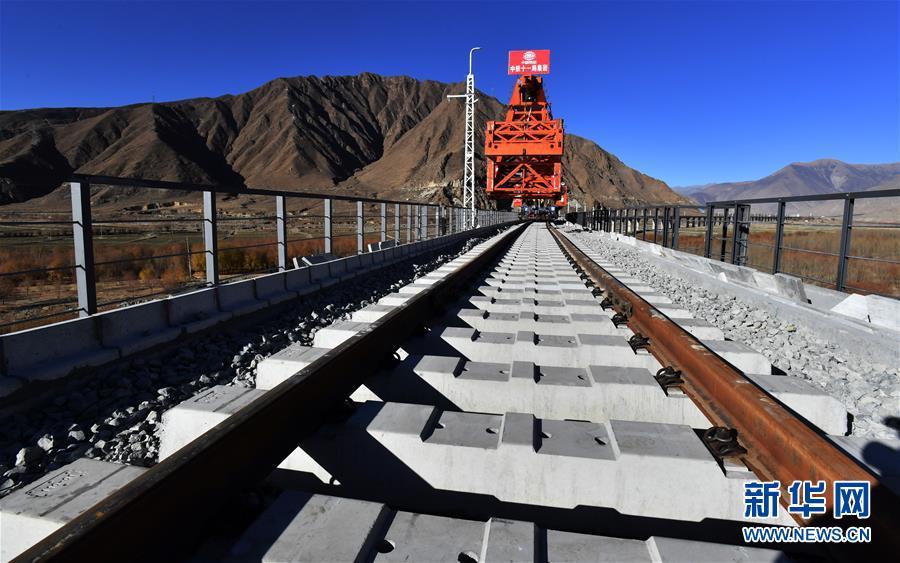 (经济)(5)拉林铁路第二次跨越雅鲁藏布江