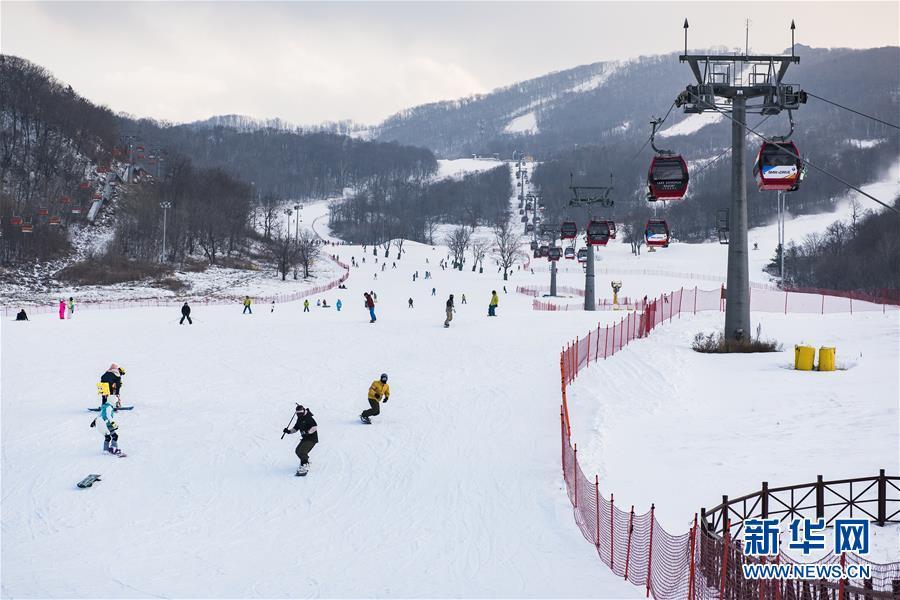 (社会)(1)吉林:冰天雪地享雪趣
