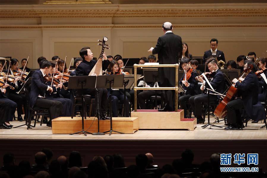 (国际)(1)在纽约,奏起和而不同的交响乐