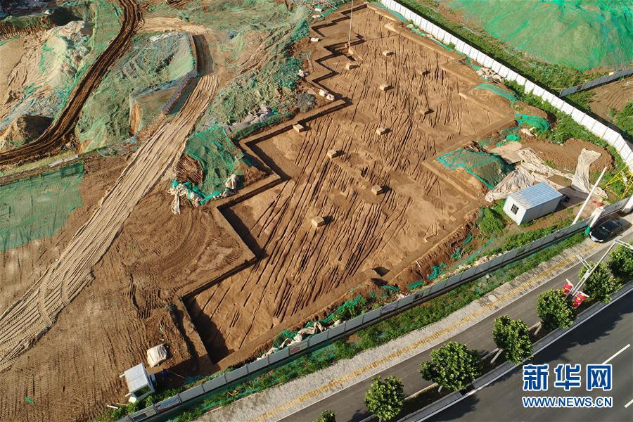 (图文互动)(3)西安:新寺遗址周边发现西汉中晚期古代道路