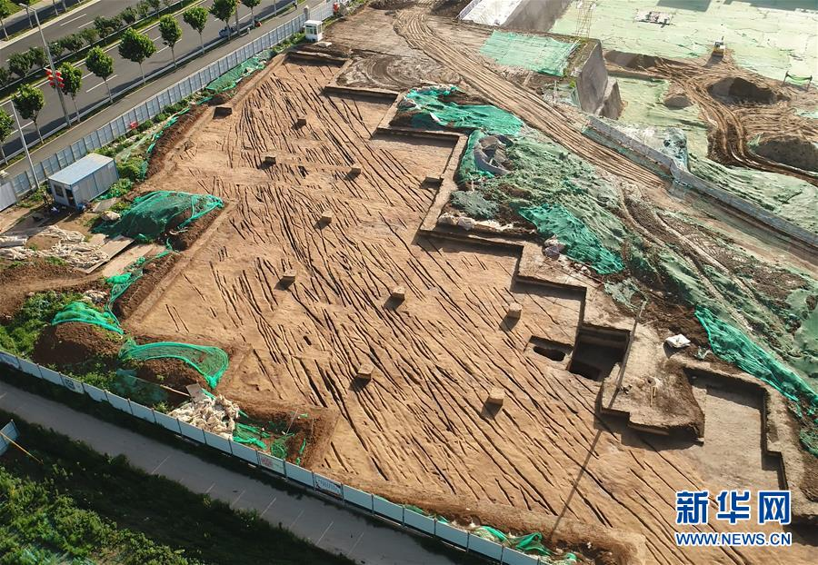(图文互动)(5)西安:新寺遗址周边发现西汉中晚期古代道路