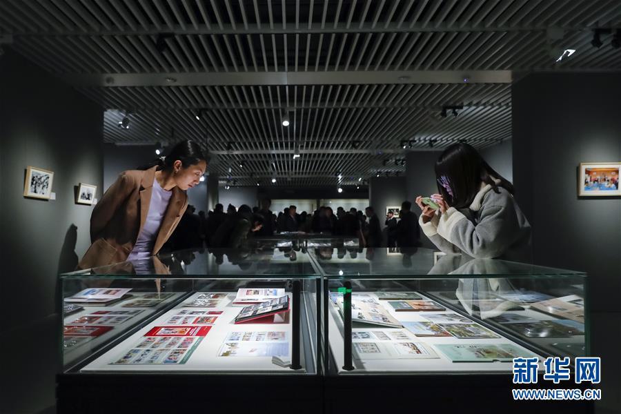 (图文互动)(1)中朝建交70周年纪念展在京开幕