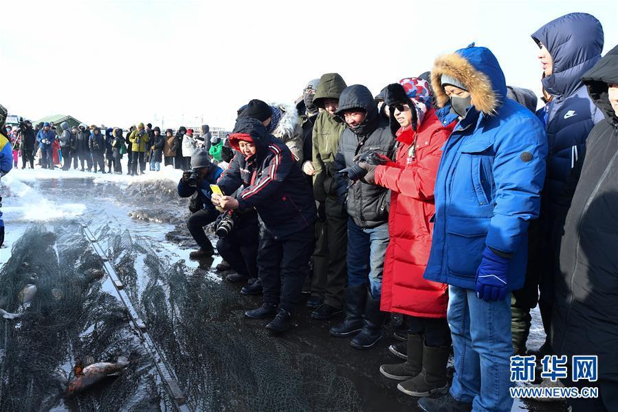 (社会)(6)内蒙古雪原上的冬捕