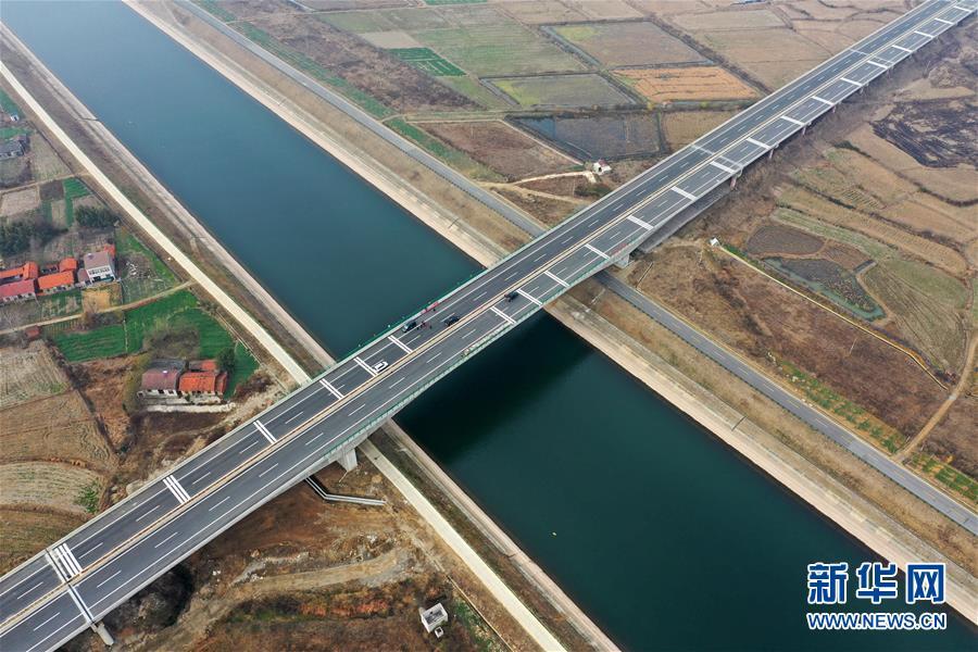 (经济)(1)湖北枣潜高速即将通车