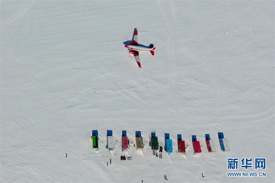 """(""""雪龙""""探南极·图文互动)(2)综述:中国第36次南极考察队员""""五大阵地""""过新年"""