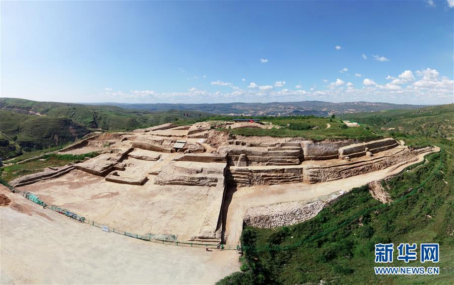 (文化)(1)陕西石峁遗址皇城台发现70余件精美石雕