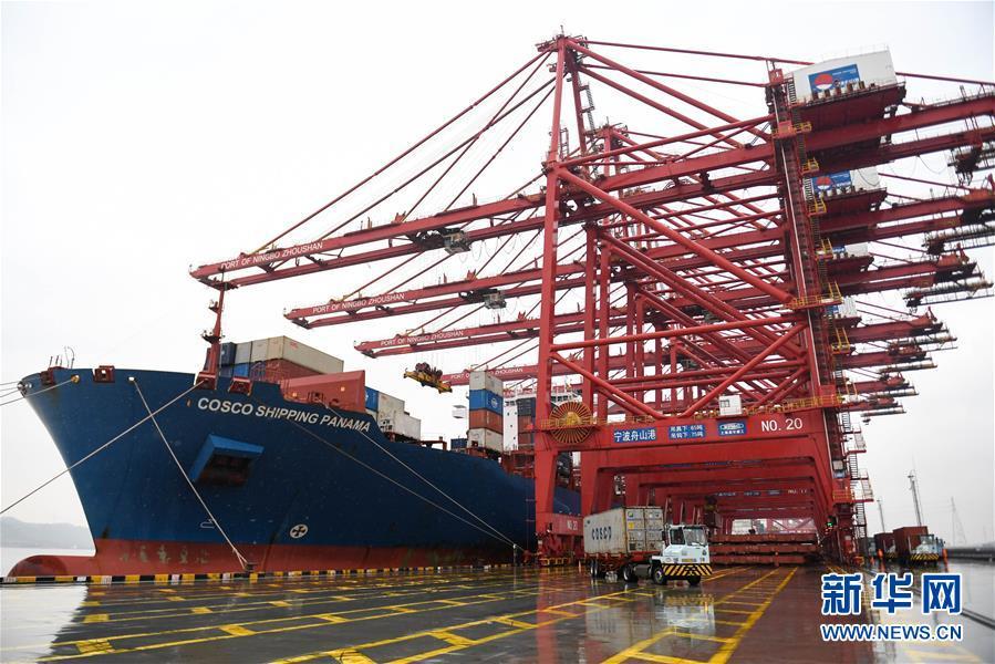 (经济)(1)宁波舟山港年吞吐量超11亿吨
