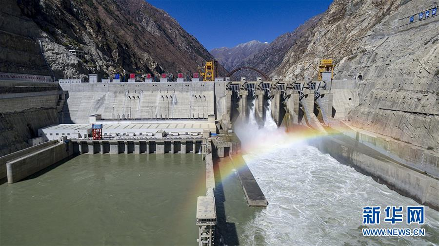 (图文互动)(1)西藏首座大型水电站累计发电突破100亿度
