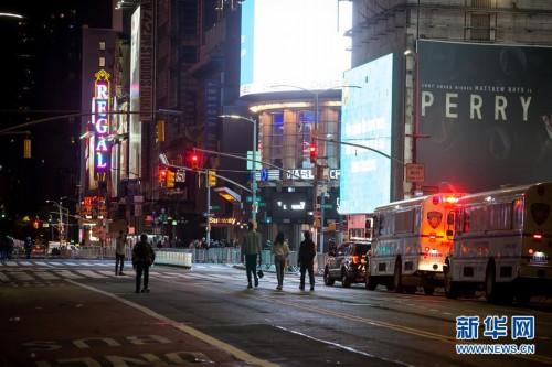 (国际)(1)美国抗议和骚乱进入第七天 纽约实行宵禁