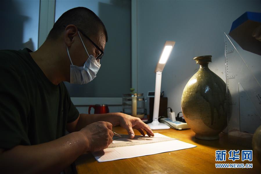 (文化)(5)山东小清河复航工程出土文物进入修复研究过程