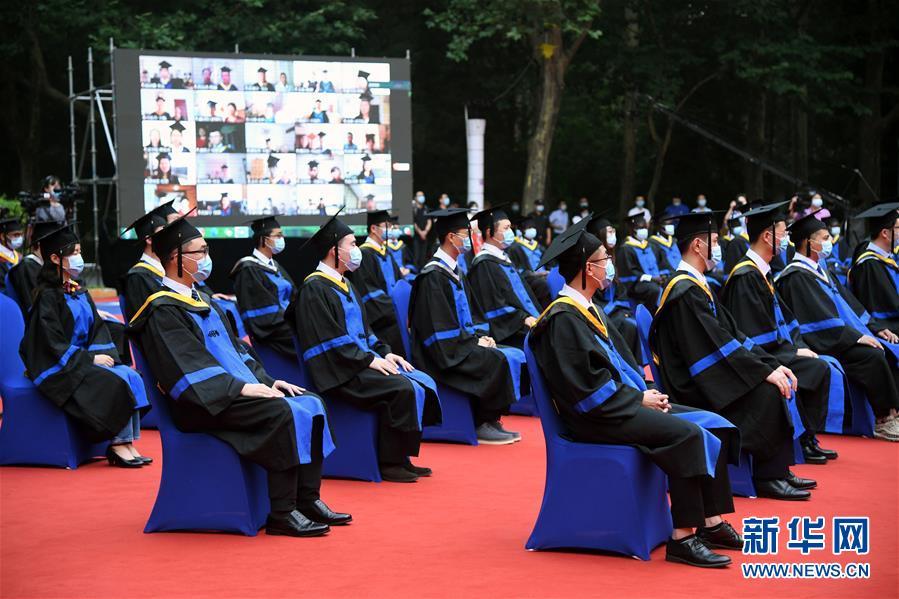 (教育)(2)北京航空航天大学举行2020届本科生毕业典礼