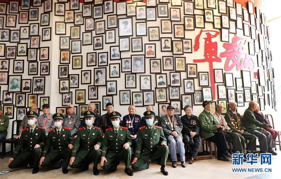 (社会)(1)上海举行纪念中国人民志愿军抗美援朝出国作战70周年活动