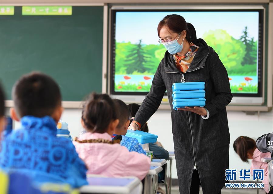 """(教育)(1)河北乐亭:""""校内托管""""惠及学生"""