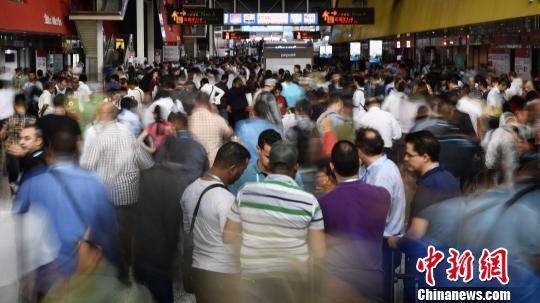 广交会上中国健康食品受关注中企走向海外势头强