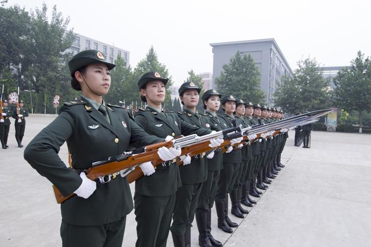 解放军队列
