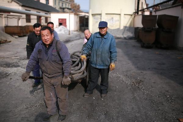 图片故事:陶庄煤矿最后的矿工