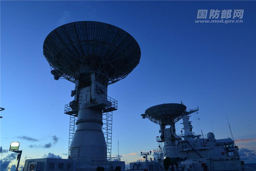 远望7号船发现目标及时,卫星跟踪稳定,数据获取有效,圆满完成任务,为卫星正常运行提供重要支撑。