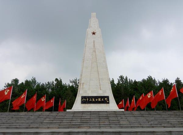 淮安刘老庄乡八十二烈士陵园