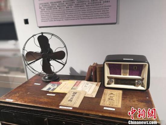 图为津沽记忆博物馆内展品。 刘家宇 摄