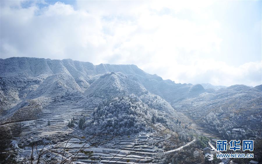 (环境)(3)黔北山乡冬景美