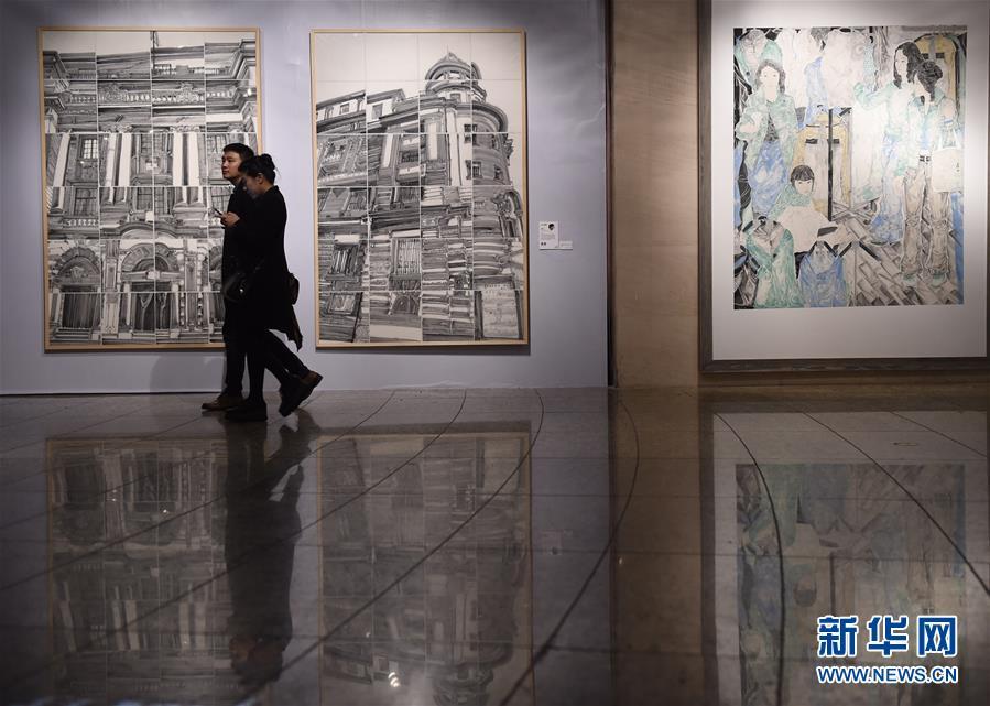 """(文化)(3)""""中国艺术新视界2018""""在京开展"""