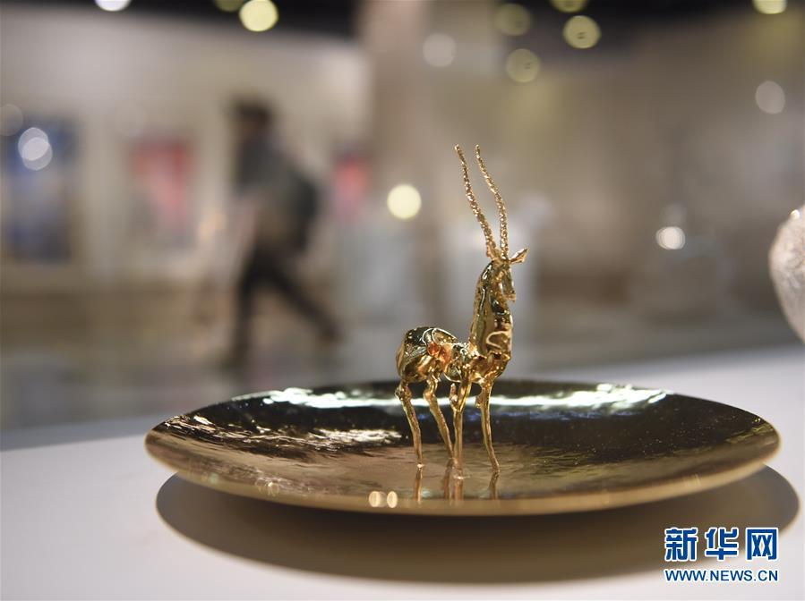"""(文化)(6)""""中国艺术新视界2018""""在京开展"""