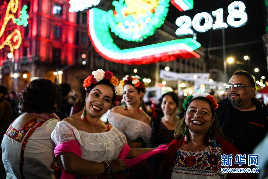 (国际)(1)墨西哥庆祝独立208周年