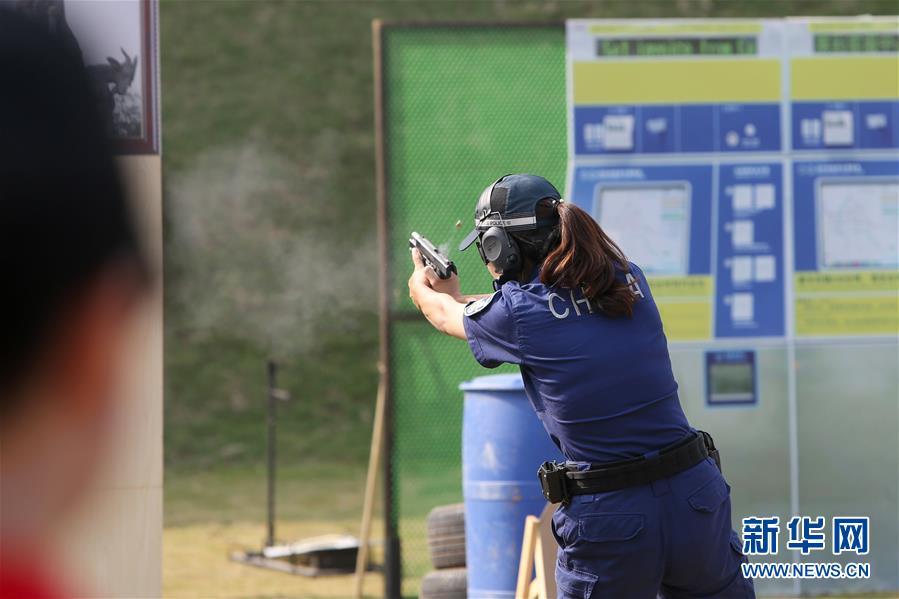 (社会)(1)第二届世界警察手枪射击比赛于广东开赛