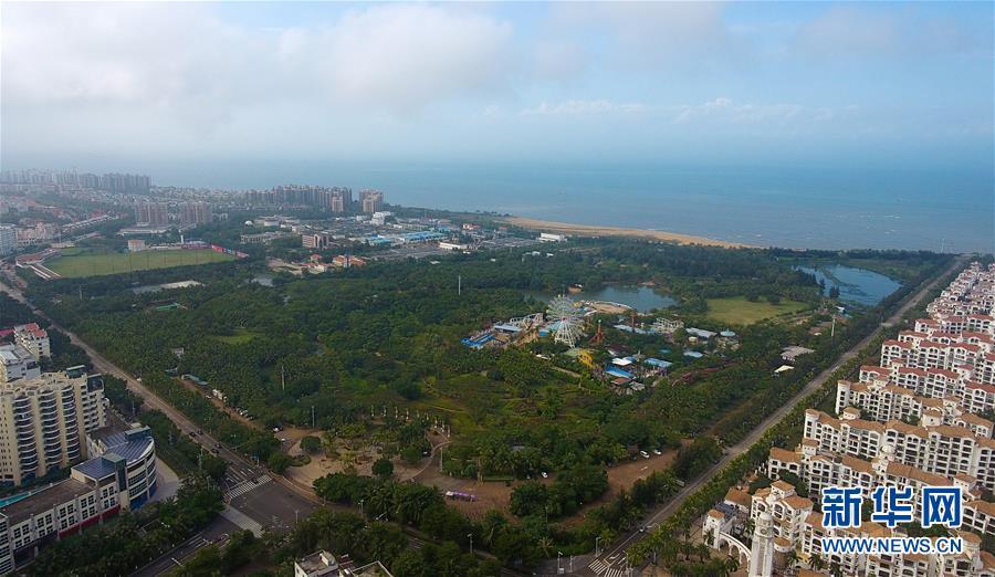 (图文互动)(1)海南海口:湿地如画城中绘