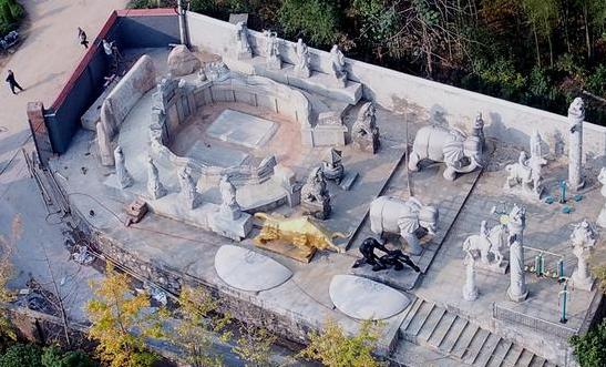 湖南湘乡活人墓重建 当地政府已责令拆除