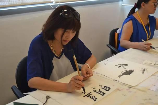 中国美术学院美美讲堂传统文化艺术设计课走体验boom图片