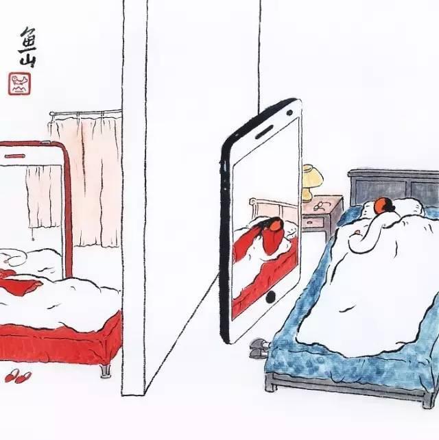 漫画 朋友圈最不正经的漫画,他把日子画成了诗,人人都想睡进他画里