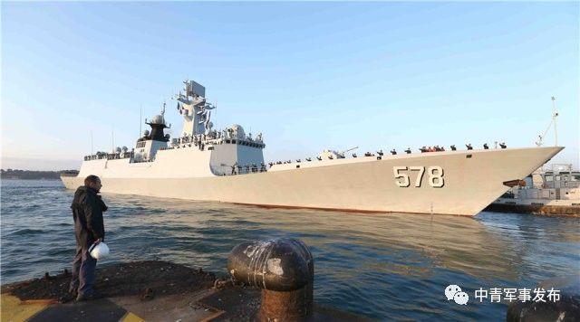 中国海军第二十六批护航编队圆满结束对法国的友好访问启程回国