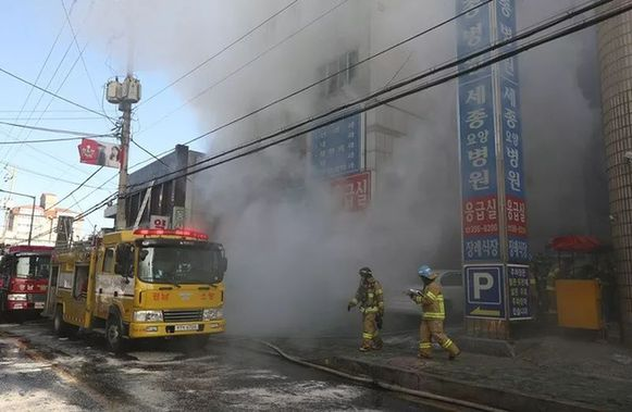 伤亡惨重!韩国医院大火112人死伤 无中国人 台湾艾一若厨卫电器