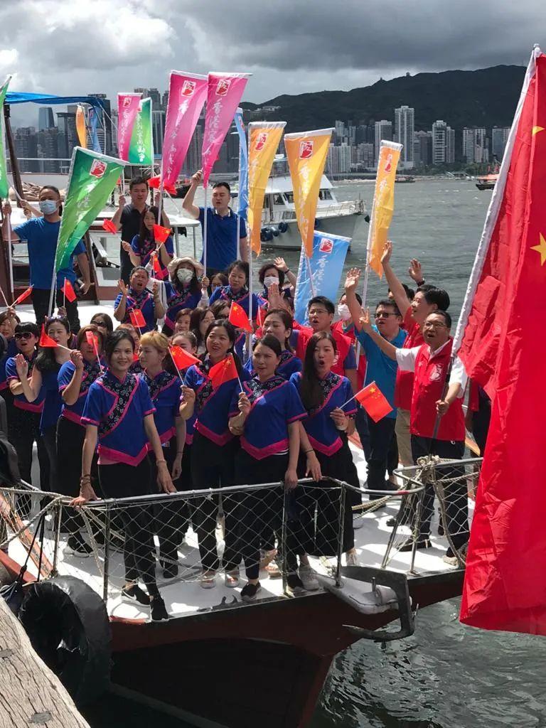 《【恒达注册链接】香港各界妇女贺国安立法、庆香港回归(二)》