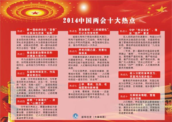 新华社预测两会十大热点 民众期待揪大老虎