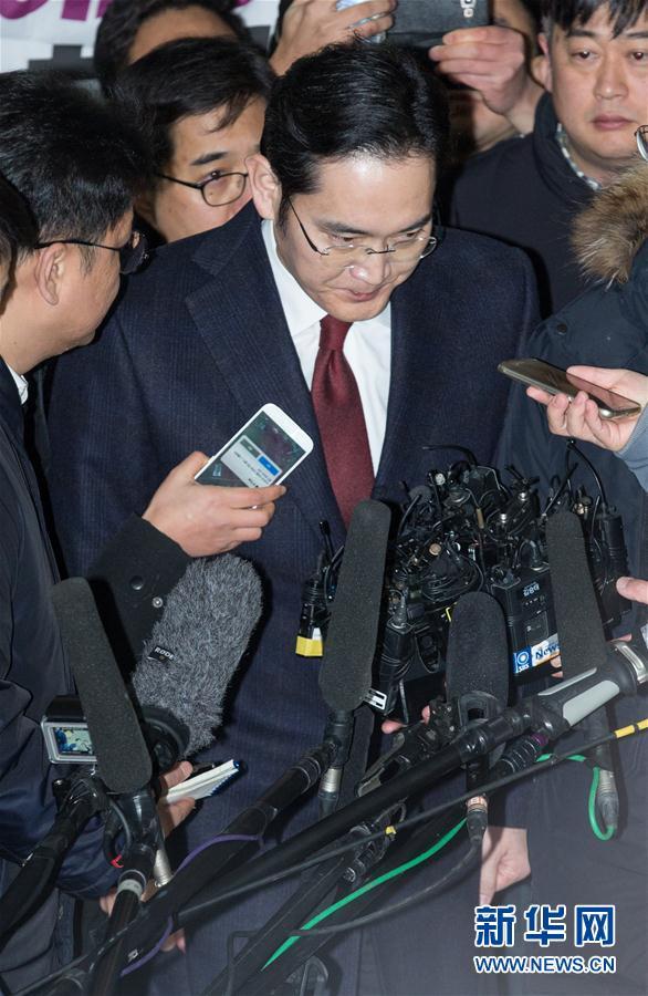 (国际)(1)三星电子副会长在韩国首尔接受讯问