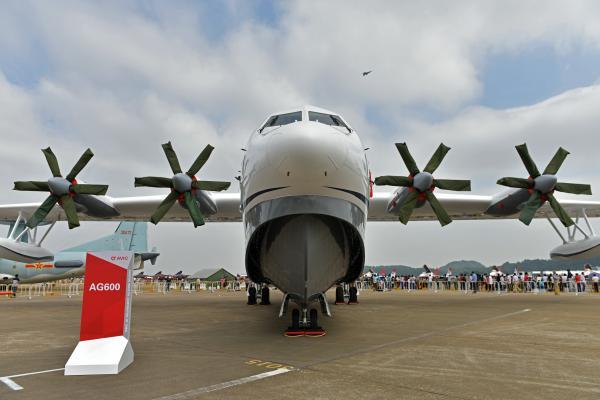 中国自主研制大型水陆两栖飞机ag600今年首飞