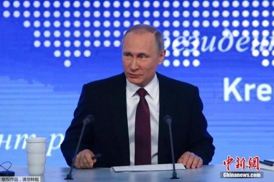 资料图:俄联邦总统普京。