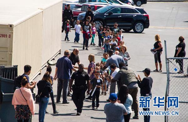 美国加州一小学发生枪击事件造成3人死亡