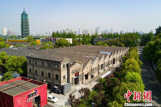 """李鸿章留下的清末建筑群如今成了南京""""慢生活""""创意花园"""