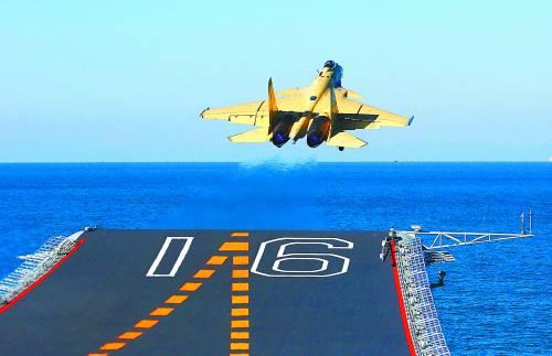 土耳其飞机投入大海