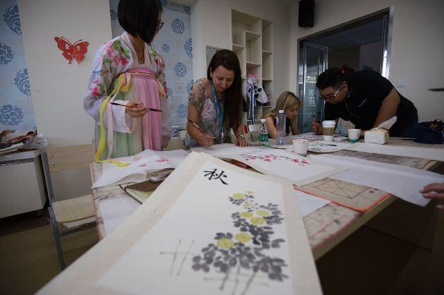 北京工业大学北京 都柏林国际学院 翻转课堂 学生给外教讲中国