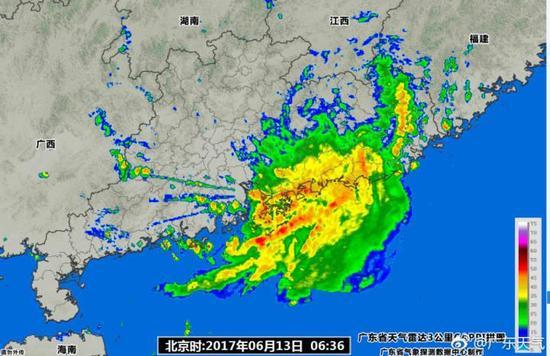 广东多个市县发布暴雨预警 多地幼儿园中小学停课