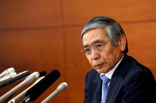 日本央行总裁黑田东彦(资料图)