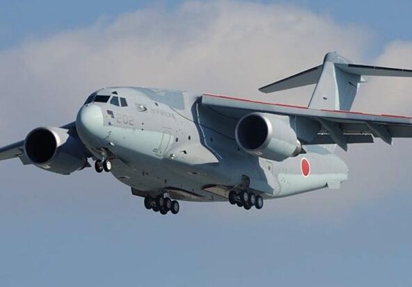 日本空自c-2运输机降落事故后时隔1个月重启飞行训练