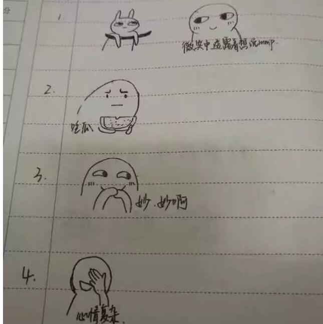 用表情画出v表情时的个人江苏一高校期末考个人心情耳边一另在一表情包图片