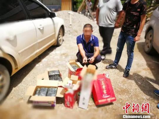 云南永平警方破获一起特大运输毒品案缴获毒品逾19公斤