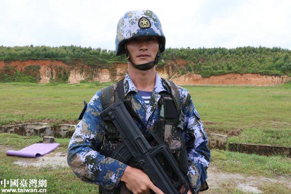 【网络媒体国防行】海军陆战队战士胡永斌:面朝大海,我愿永远做一名普通的士兵!